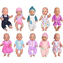 Feeding Set for Dolls Like 18 inch American Girl Dolls ebuddy Total 19pcs Various Doll Accessories Include Backbag Our Generation Dolls// 43cm New New Born Baby Dolls